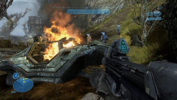Halo Reach Pc Technical Review Graphics Comparison 3 Enhanced 1080p
