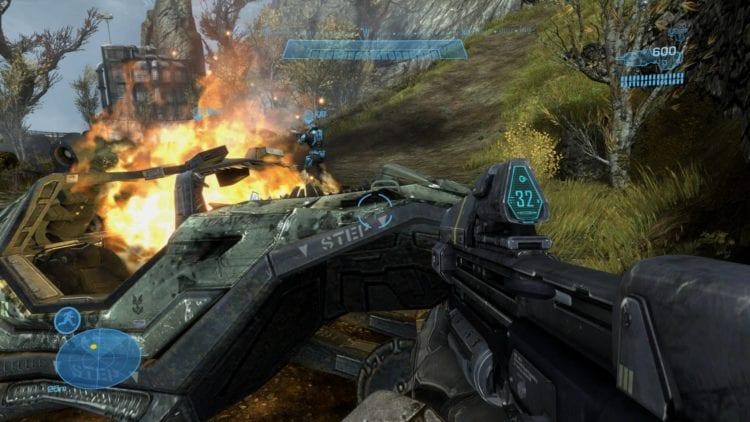 Halo Reach Pc Technical Review Graphics Comparison 3 Enhanced High
