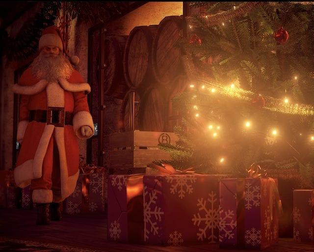 Hitman 2 Santa