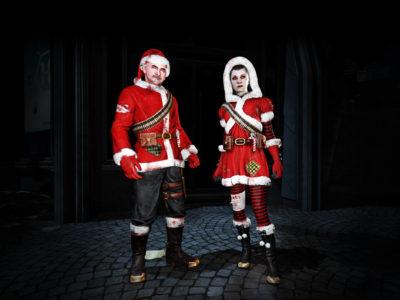 Killing Floor 2 Yuletide Horror Costumes