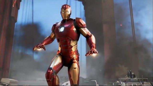 Square Enix comic prequel Iron Man Marvel's Avengers delay