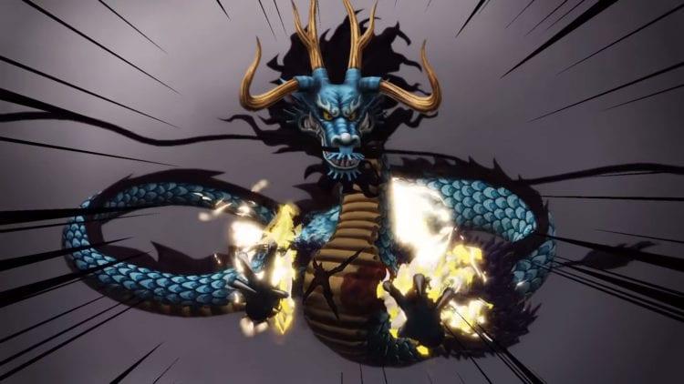One Piece Pirate Warriors 4 Kaido Dragon