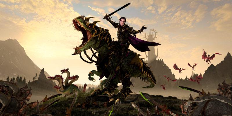 Total War Warhammer 2 The Shadow & The Blade Malus Darkblade Hag Graef Tzarkan Guide