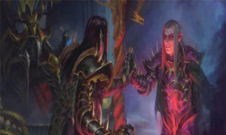 Total War Warhammer 2 The Shadow & The Blade Malus Darkblade Hag Graef Guide Cinematic