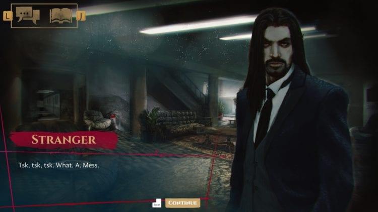 vampire stranger dialogue