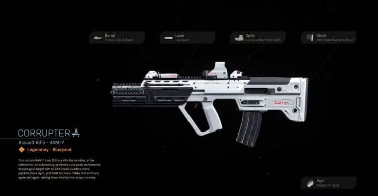 Modern Warfare RAM-7