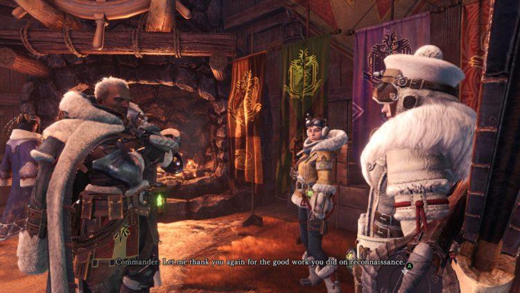 Monster Hunter World Iceborne commander
