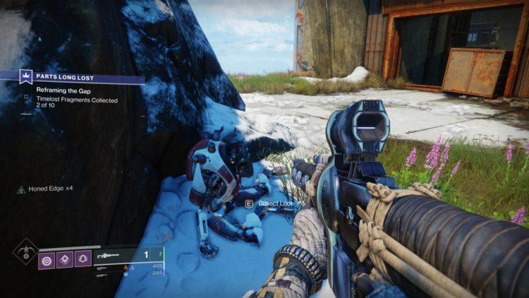 Devil's Ruin guide exotic sidearm Twilight Gap fragments Destiny 2 guide - Fragment 1