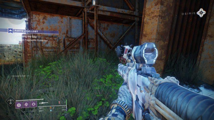 Devil's Ruin guide exotic sidearm Twilight Gap fragments Destiny 2 guide - Fragment 2