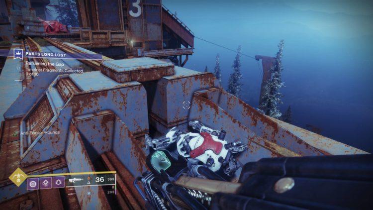 Devil's Ruin guide exotic sidearm Twilight Gap fragments Destiny 2 guide - Fragment