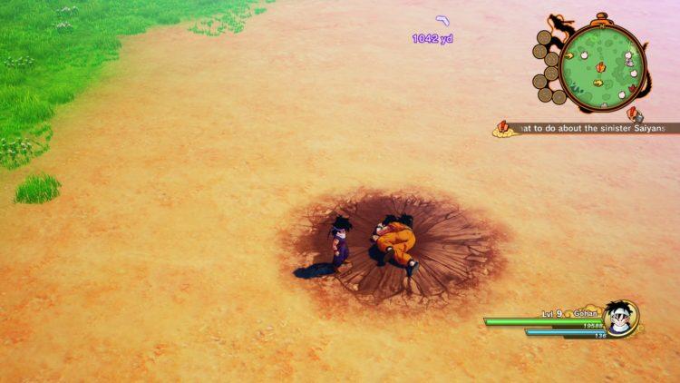 Dragon Ball Z Kakarot - Hi Yamcha, bye Yamcha