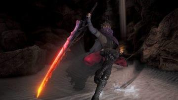 Code Vein The One Handed Sword Inferno Blade