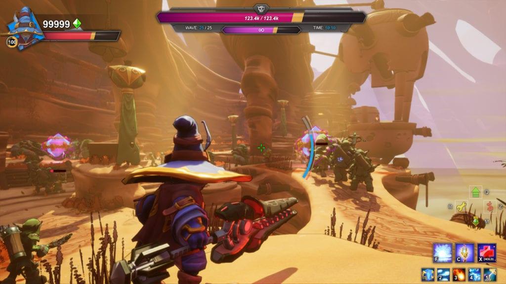 Dungeon Defenders Awakened Gameplay