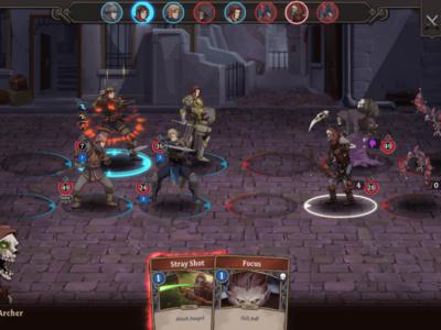 Gordian Quest Battle