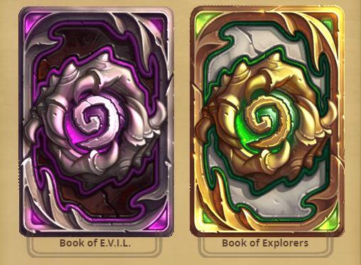 Hearthstone Galakrond's Awakening Card Backs