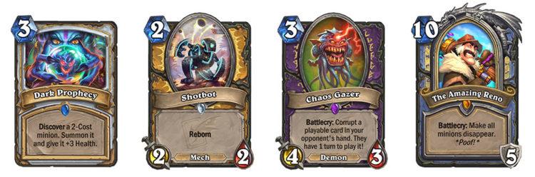 Hearthstone Galakrond's Awakening Cards