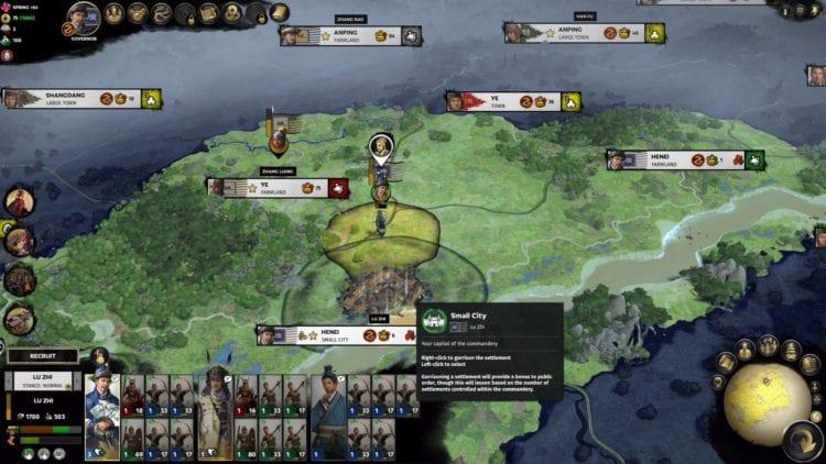 Lu Zhi Guide Total War Three Kingdoms Mandate Of Heaven Zhang Liang 1