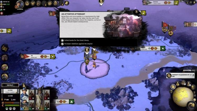Lu Zhi Guide Total War Three Kingdoms Mandate Of Heaven Start 1