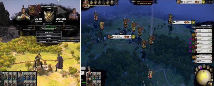 Total War Three Kingdoms Mandate of Heaven patch 1.41 - Liu Bei duplicate Guan Yu Zhang Fei