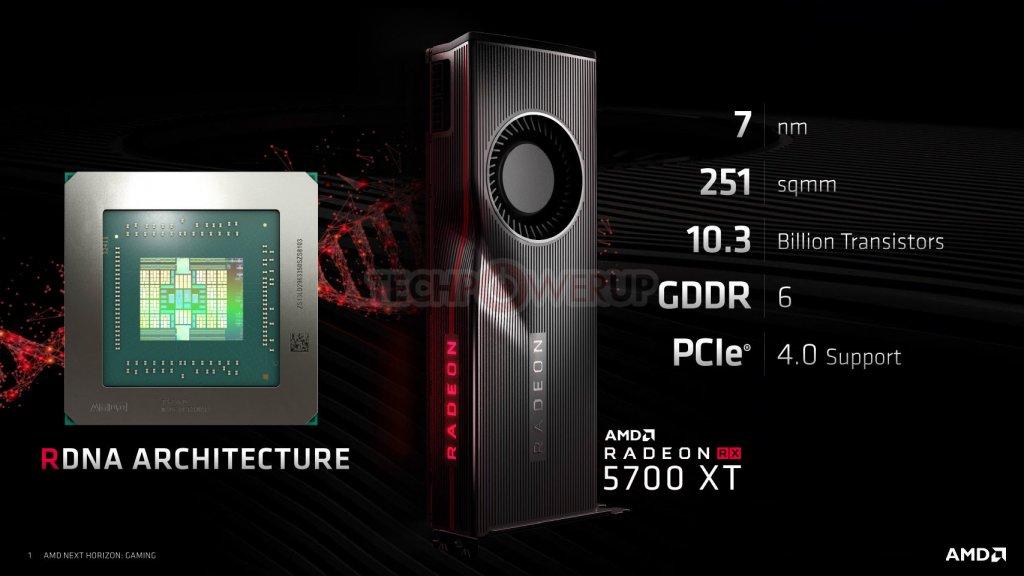 Navi Radeon Rx 5700 Xt