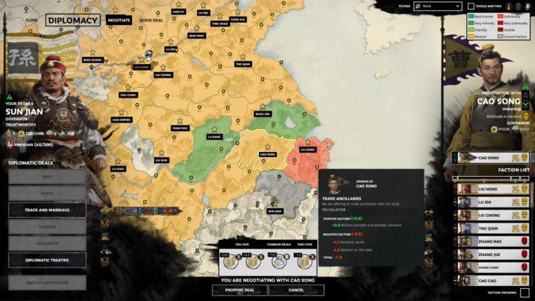 Sun Jian Guide Mandate Of Heaven Total War Three Kingdoms Start 2
