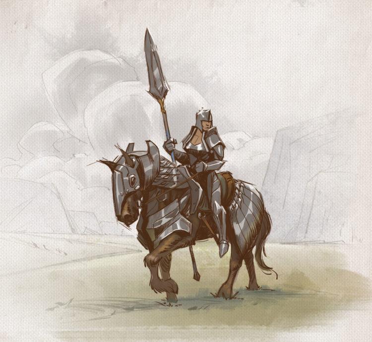 Tellstones King's Gambit Knight