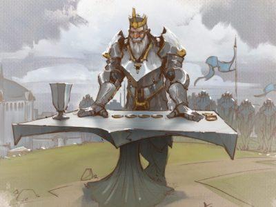 Tellstones King's Gambit Riot Tabletop Game