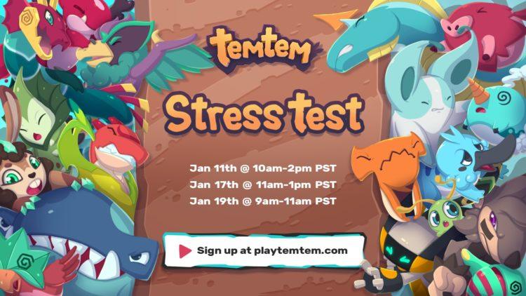 Temtem Stress Tests