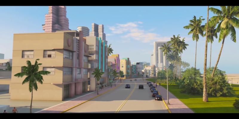 Vice City GTAV mod