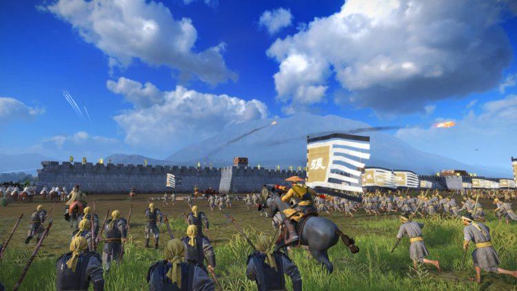 Yellow Turbans Guide Mandate Of Heaven Total War Three Kingdoms Zhang Jue Yellow Turban Rebellion Battle Advance