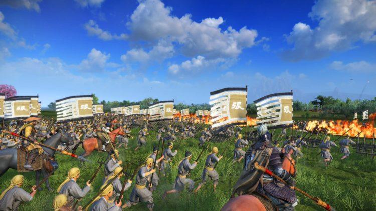 Yellow Turbans Guide Mandate Of Heaven Total War Three Kingdoms Zhang Jue Yellow Turban Rebellion Battle Fire