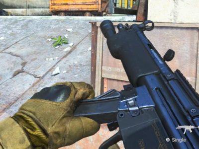 Modern Warfare MP5 Nerf