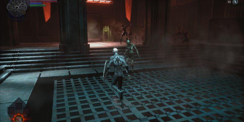 Hellpoint Dark Souls sci-fi action co-op Cradle Games tinyBuild