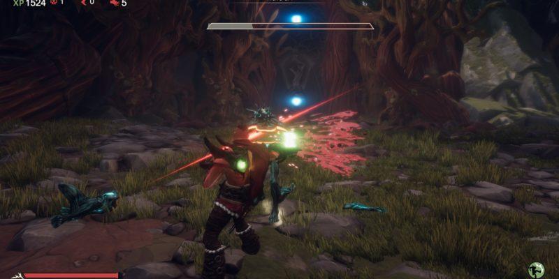 warlander review lightsaber roguelike 1