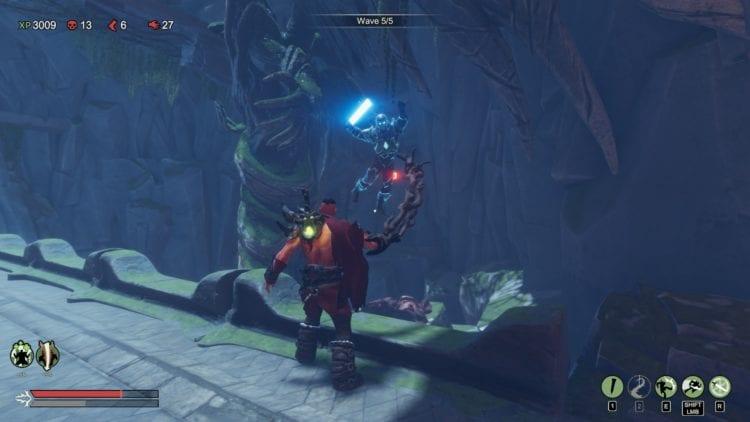 warlander review lightsaber roguelike 3