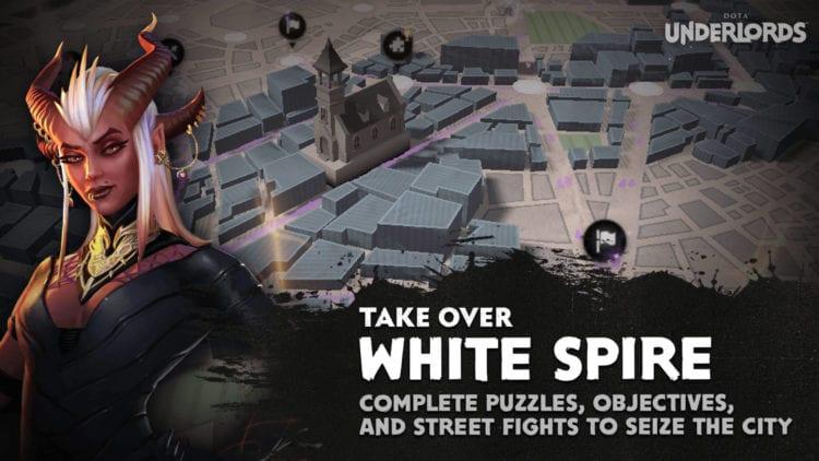 Dota Underlords Season One City Crawl Campaign