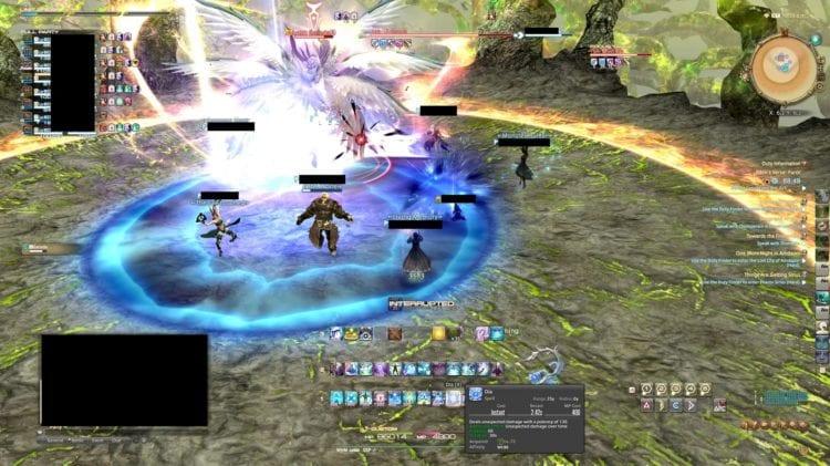 blue circle Final Fantasy XIV: Shadowbringers Furor Garuda Ifrit Raktapaksa Eden's Verse