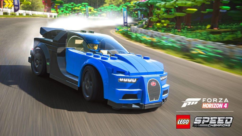 Forza Horizon 4 Lego Bugatti Chiron