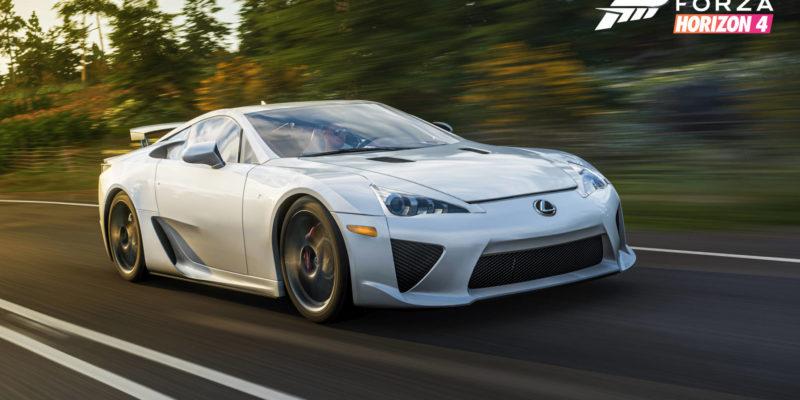 Forza Horizon 4 Lexus Lfa