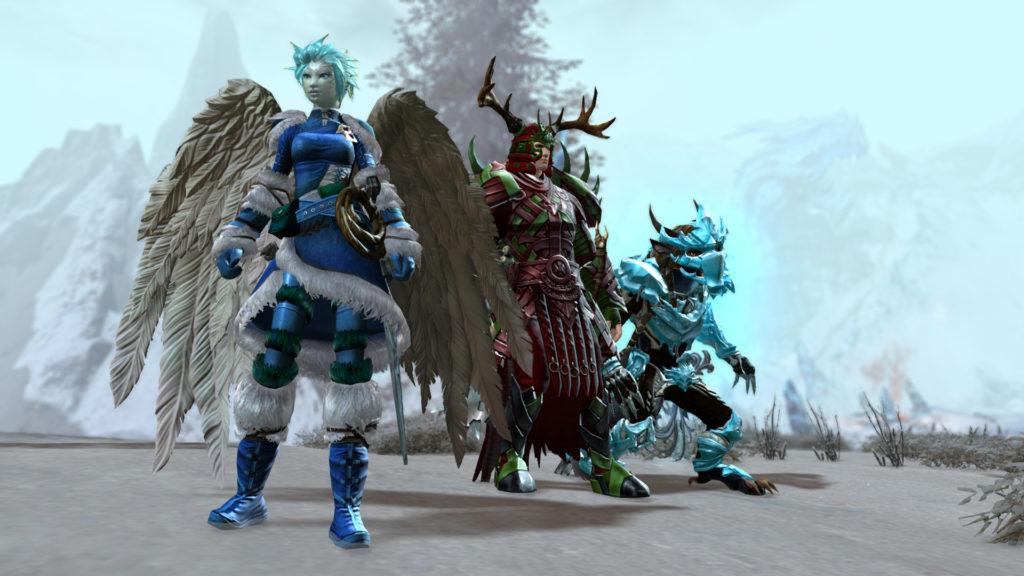 Guild Wars 2 future Guild Wars 2 update Sylvari Norn Charr