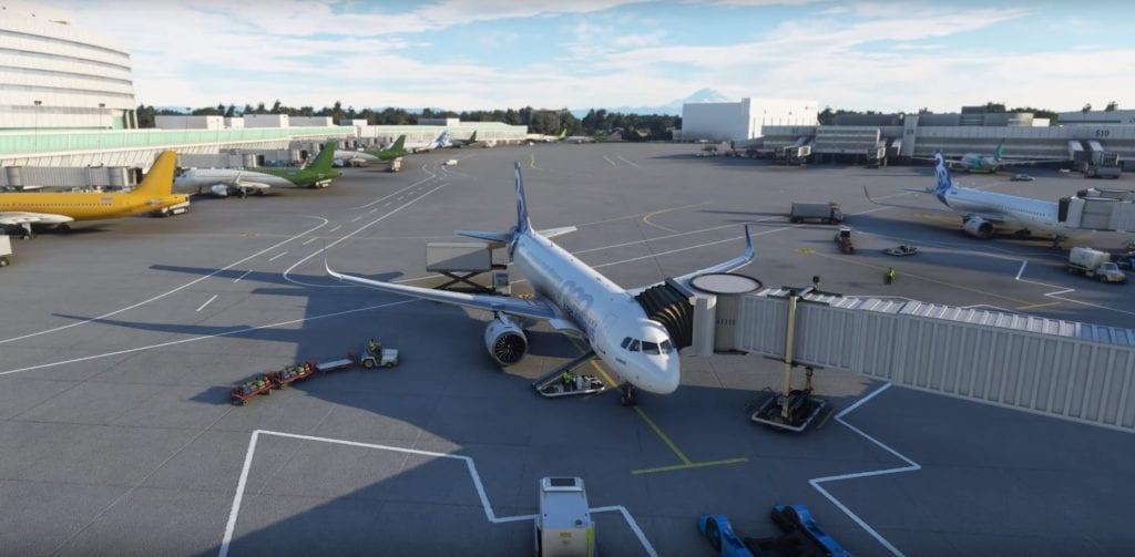 Microsoft Flight Simulator 2020 Airport Services