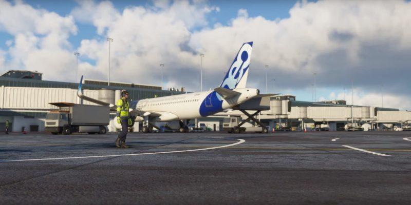 Microsoft Flight Simulator 2020 Animated Ground Workers