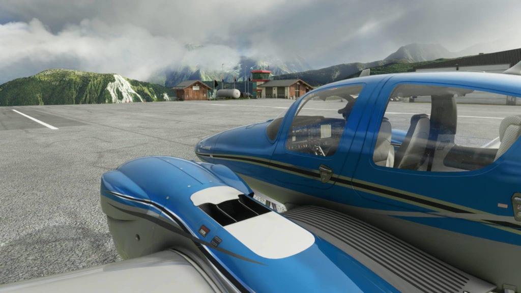 Microsoft Flight Simulator 2020 On The Small Runway