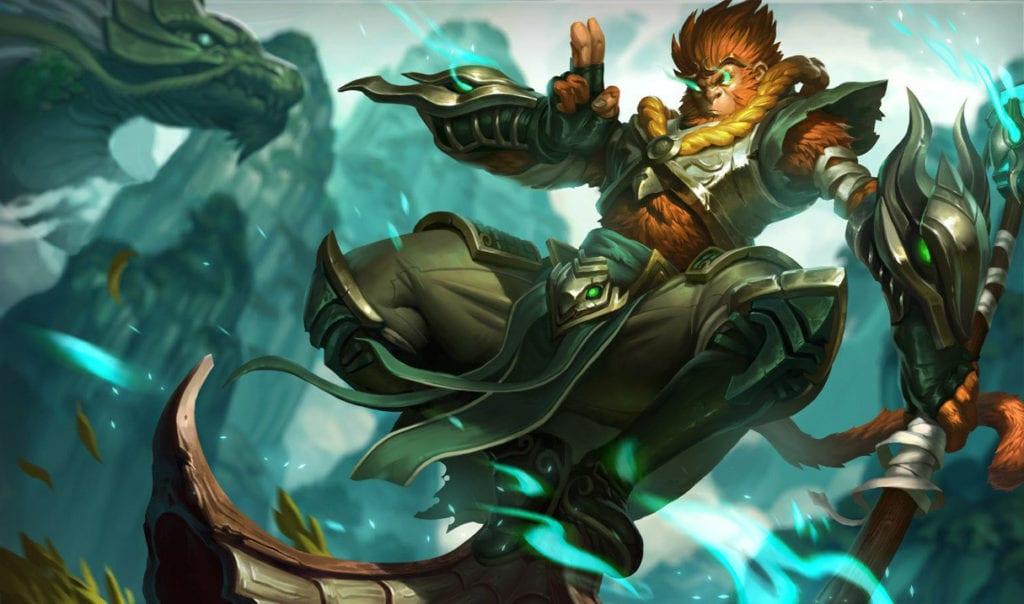 League of Legends Wukong rework monkey king