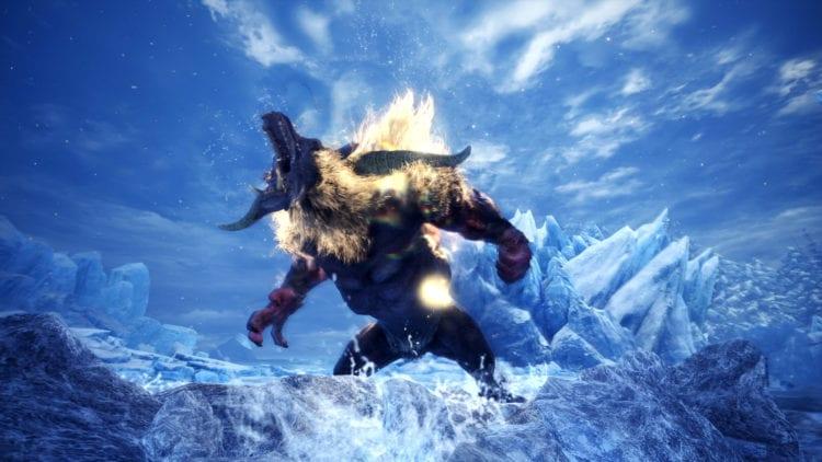 Monster Hunter World Iceborne Furious Rajang Variant