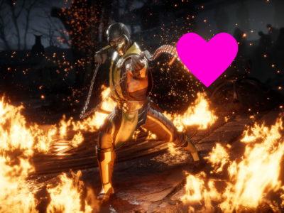 Mortal Kombat 11 Valentines