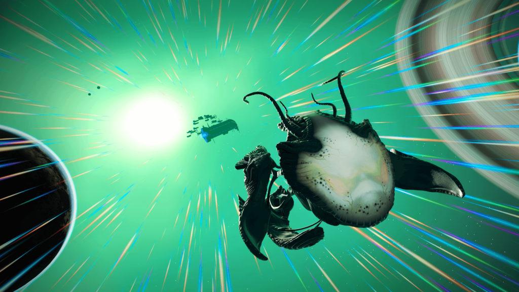 No Mans Sky Update Living Spaceships Flying