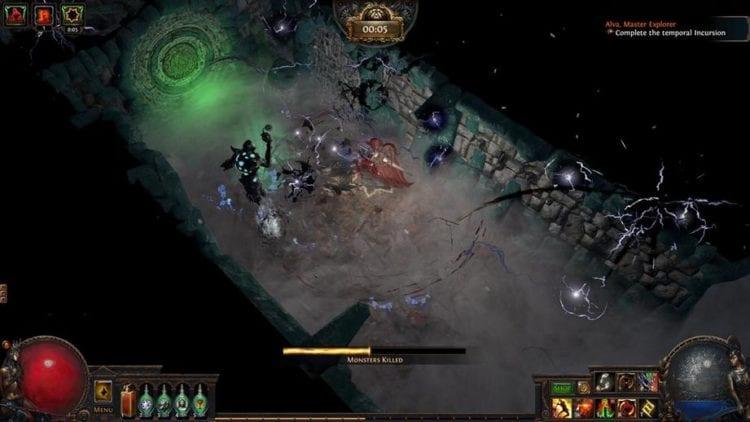 Path Of Exile Delirium Expansion Delirium Boss, Cluster Jewels, Unique Items, Skills, Passives, Blade Blast, Kinetic Bolt, Simulacrum Atlas Incursion Example