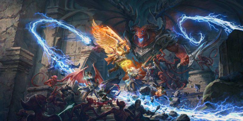 Pathfinder Wrath Of The Righteous owl games kickstarter $1M $1 million raised turn-based mode mythic paths