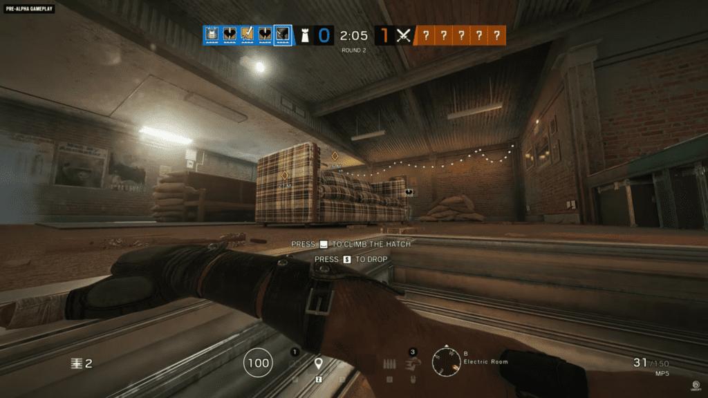 Rainbow Six Siege Ledge Grab year 5 operators